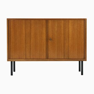 Two-Doored Walnut Commode, 1960s