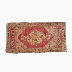 Vintage Oushak Pastel Colored Rug
