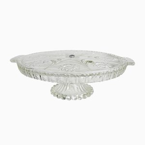 German Crystal Cake Stand from Walther Glas, 1970s