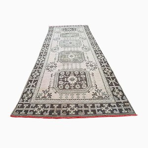 Large Turkish Flatweave Oushak Runner