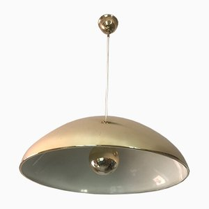 Lámpara colgante de latón, años 60