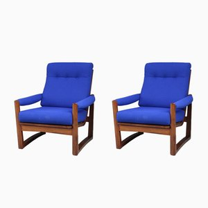Vintage Virginia Teak Armchairs from Greaves & Thomas, 1950s, Set of 2