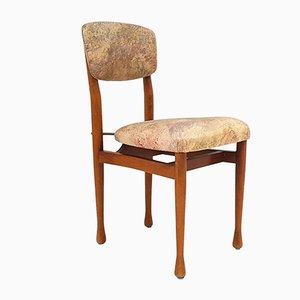 Skandinavischer Stuhl aus Teak, 1960er