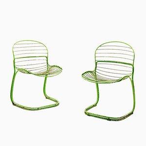 Vintage Beistellstühle von Gastone Rinaldi, 1960er, 2er Set