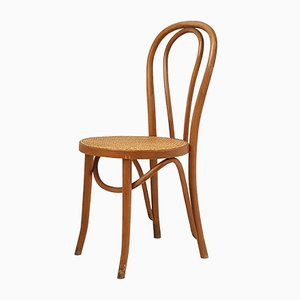French Bentwood Bistro Chair, 1940s