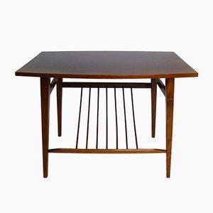 Table Basse Tchécoslovaque avec Porte-Journaux, 1960s