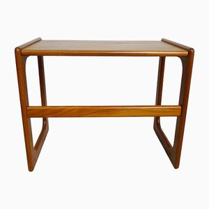 Danish Modernist Teak Coffee Table, 1960s
