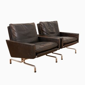 Mid-Century PK31-1 Armchairs by Poul Kjaerholm for E. Kold Christensen, Set of 2