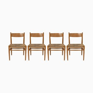 Model CH36 Chairs by Hans Wegner for Carl Hansen & Søn, 1962, Set of 4