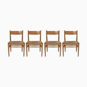 Modell CH36 Stühle von Hans Wegner für Carl Hansen & Søn, 1962, 4er Set