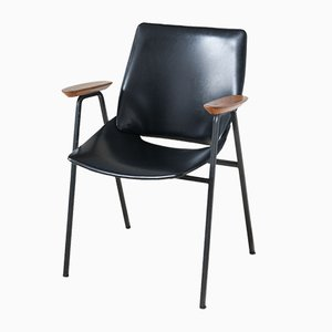 Black Shell Lupina Armchair by Niko Kralj for Stol, 1970s