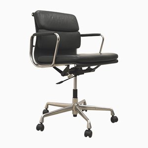 Green EA217 Soft Pad Office Chair by Charles & Ray Eames for Vitra, 1980s
