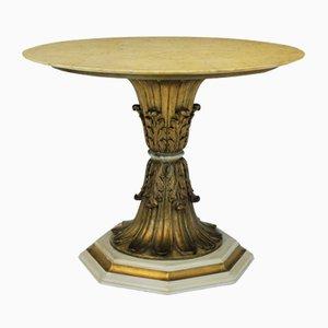 Italian Gilt Wood Centre Table, 1940s