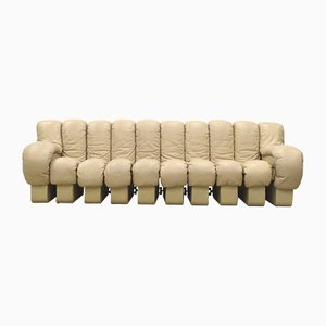 DS600 Beige Sofa by Ueli Berger & Eleonore Peduzzi Riva for de Sede, 1970s