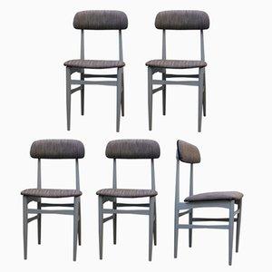 Spanische Vintage Stühle, 1960er, 5er Set