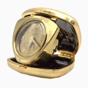 Reloj despertador con forma de corazón de Europa, años 50