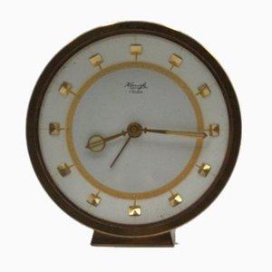 Reloj despertador de mesa de Kienzle, años 50