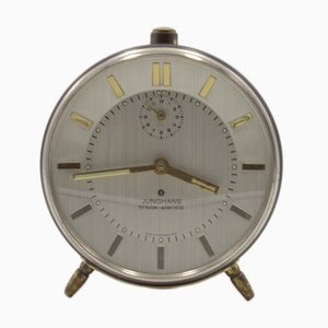 Junghans Trivox Silentic Alarm Table Clock from Kienzle, 1960s