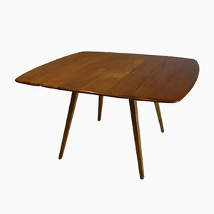 Mid-Century Drop Leaf Dining Table by Lucian Ercolani for Ercol, 1960s