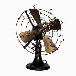 Vintage Metal Fan from Siemens, 1930s