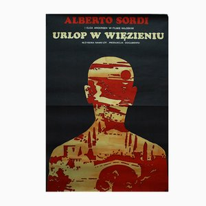 Poster del film Detenuto in attesa di giudizio di Jack Neugebauer, anni '70