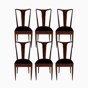 Mid-Century Dining Chairs by Ulrich, 1940s, Set of 6