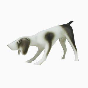 Tschechische Hundefigur aus Porzellan von Royal Dux, 1990er