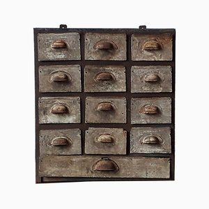Small Metal Chest of Drawers, 1930s