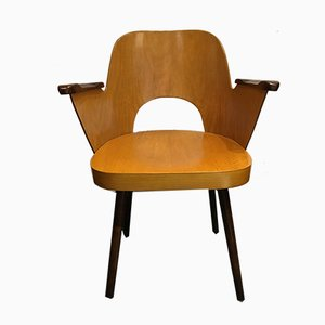 Mid-Century Armchair by Oswald Haerdtl for TON, 1955