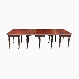 George IV Mahogany Extendable Dining Table from Gillows, 1815