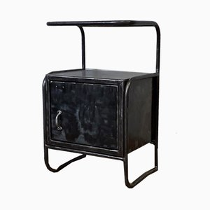Industrial Metal Nightstand