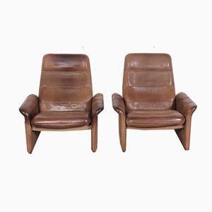 Vintage DS50 Sessel von de Sede, 1970er, 2er Set