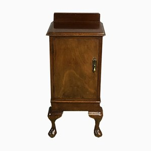 Chippendale Style Mahogany Nightstand, 1920s