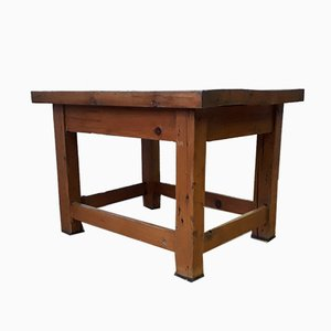 Kleiner industrieller Schreibtisch, 1950er