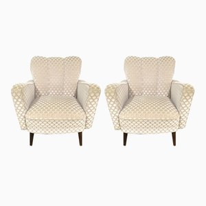 Art Deco Sessel, 1940er, 2er Set