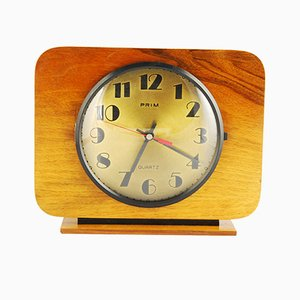 Hazel Fireplace Clock from Prim, 1960s