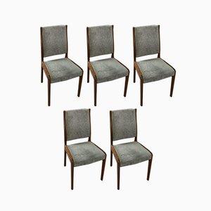 Vintage Esszimmerstühle von G-Plan, 1970er, 5er Set