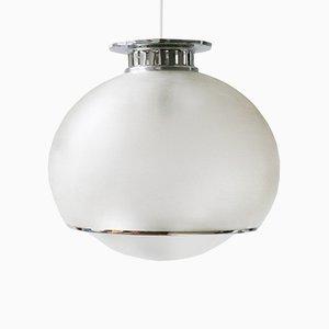 Lámpara de techo Bud vintage grande de Harvey Guzzini para Meblo, años 80