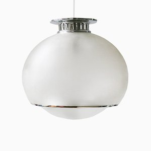Lámpara de techo Bud vintage grande de Harvey Guzzini para Meblo
