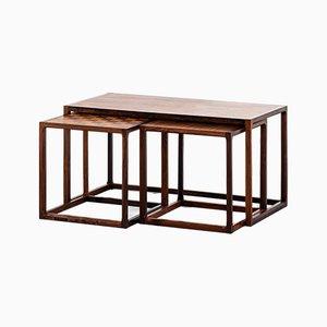 Tavolini ad incastro di Aksel Kjersgaard per Odder, anni '60