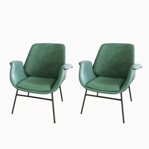 Mid-Century Modern Armchairs from Stol Kamnik, Set of 2