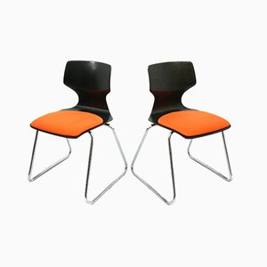 Vintage Side Chairs from Pagholz Flötotto, 1970s, Set of 2