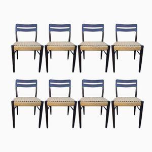 Esszimmerstühle von H.W. Klein für Bramin, 1960er, 8er Set
