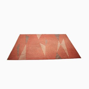 Mid-Century Geometric Carpet, 1950s