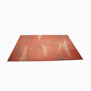 Mid-Century Teppich mit geometrischem Muster, 1950er