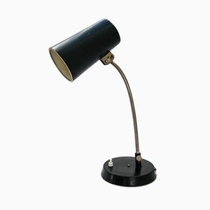 Mid-Century Black Table Lamp, 1960s