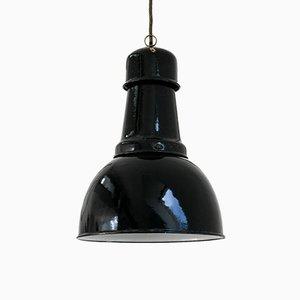 Industrielle Deckenlampe, 1950er