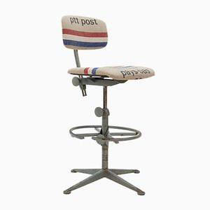 Vintage Drafting Table Chair by Friso Kramer for Ahrend de Cirkel, 1960s