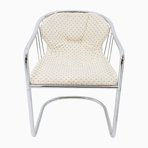 Vintage Stühle mit Gestell aus Chrom von Gastone Rinaldi für Rima, 1970er, 3er Set