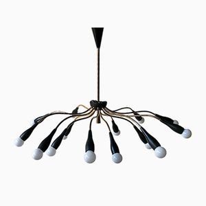 Mid-Century Chandelier from Stilnovo, 1950s